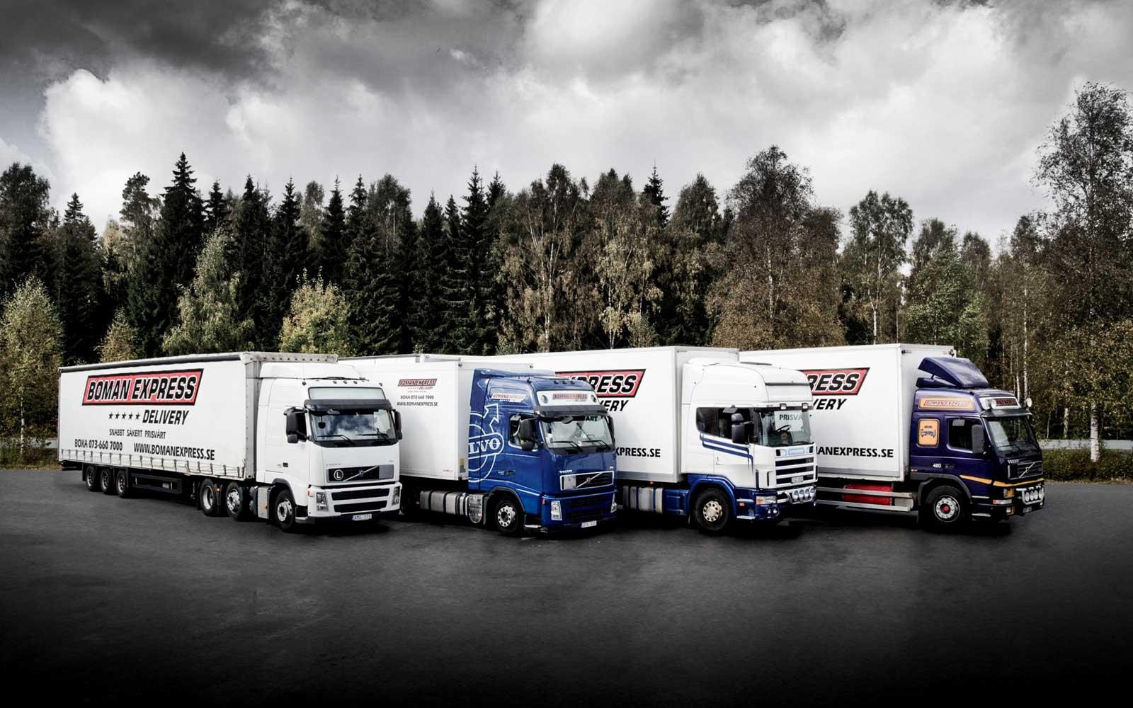 Internationella transporter och expresstransporter